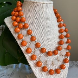 🎉5/20 SALE🎉 lydell nyc orange bead necklace